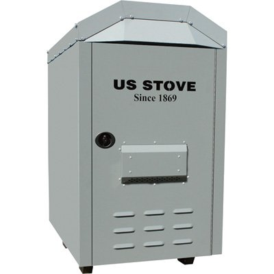 United States Stove Company Outdoor Warm Air Furnace - 180,000 BTU, 1800 CFM, Model# 1600EF