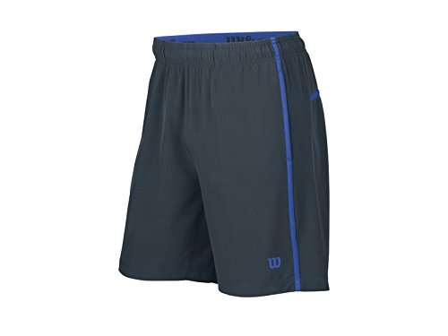 Wilson Tennis M suo Colorblock Knit STR 8 Short-Pantaloncini da Tennis, da uomo, UOMO, grigio, M