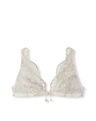 Valery Women's Audace Triangular Bra  [Milk]