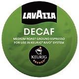 LAVAZZA ESPRESSO DECAFF 90 PACKS made for KEURIG RIVO SYSTEM