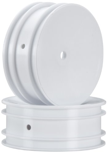 Team Associated 9690 2.2 Front Wheel with 12mm Hex, White (2) - 1