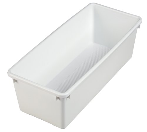 Akro-Mils 30400 Plastic Storage Nestable VantageBin, White, Case of 10