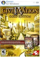 CIVILIZATION 4 GOLD W/PRINTED MANUAL