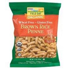 Field Day Pasta Organic Fusilli Brown Rice 12 oz. (Pack of 12)