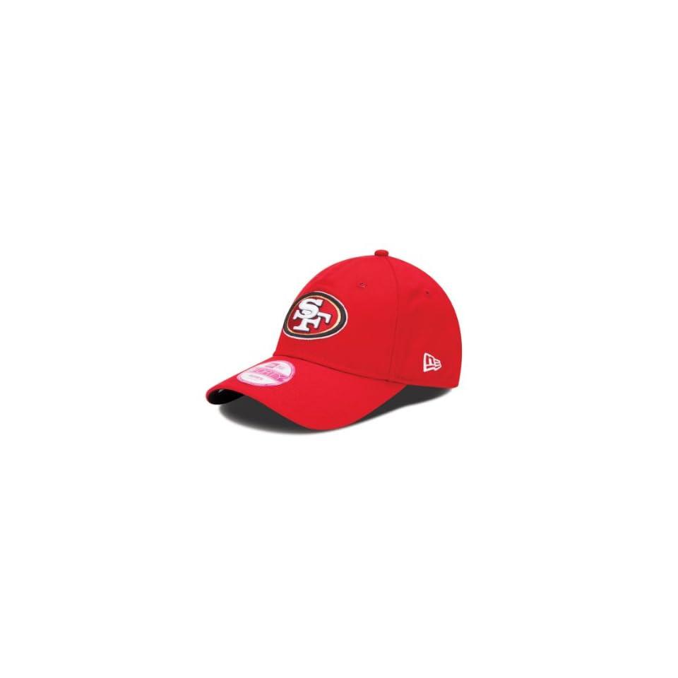 NFL San Francisco 49Ers Womens Sideline 940 Cap, Red