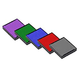 BLACK NEW Replacement Ink Pad for TRODAT Printy 4921 Self Inking Stamp