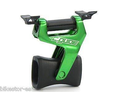 EXUSTAR Kettenführung E-CCG10 grün eloxiert