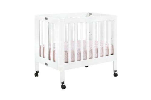 Babyletto Origami Mini Crib, White