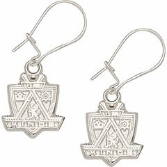Logoart Los Angeles Kings Sterling Silver Earrings