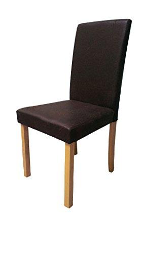 SAM-Polster-Stuhl-Billi-Esszimmer-Stuhl-in-dunkelbrauner-Antik-Optik-massive-Holzbeine-in-Buche-Design-Stuhl-fr-Kche-und-Esszimmer