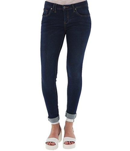 Bench, Jeans Donna Fasterestv1, Azul (Darkworn), W27/32 (Tallia Produttore: 27/32)
