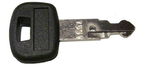 Ignition key for Kubota Excavator & Wheel Loaders, Part Number 459A