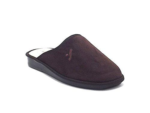 Scarpe Uomo, 5061, pantofola uomo Susimoda in velluto, colore marrone