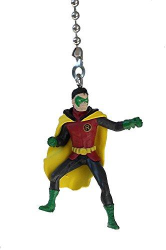 DC & Marvel comics SUPER HERO superhero character Ceiling FAN PULL light chain (Robin (Batman's sidekick partner)) (Character Ceiling Fans compare prices)