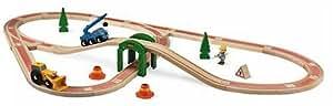 BRIO 32811 Bob the Builder: Bob, Scoop and Lofty Roadway Set