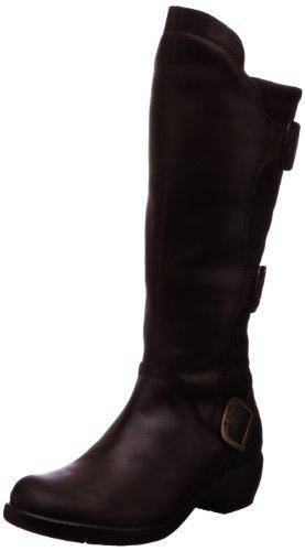 Fly London Womens Mynd Warm Boots P142909001 Dark Brown 7 UK, 40 EU