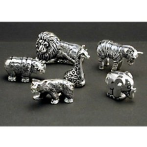 SET 6 ANIMAL PLACECARD HOLDERS