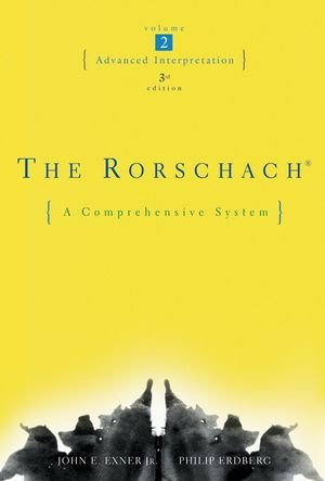 The Rorschach: Advanced Interpretation, Vol. 2