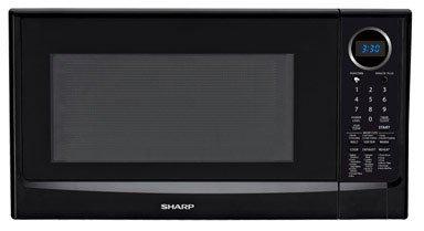 1.4 Cu. Ft. 1100 Watt Countertop Microwave - Black