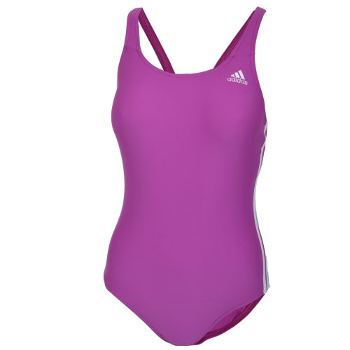Adidas Infinitex Womens One Piece Swimming Costume - Burlesque -