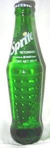 Mexican Sprite 12-12oz (355ml) Glass Bottles Mexico