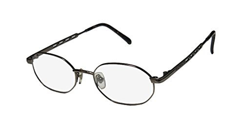 New & Season & Genuine - Brand: Paolo Gucci Style/model: 7404 Gender: Mens/Womens Rxable Newest Collection Designer Full-rim Eyeglasses/Eyewear (49-18-0, Gray) (Gucci Hair Brush compare prices)