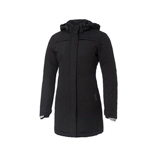 Tucano Urbano Brigitte Barbet - traspirante, antivento e impermeabile 3/4 lunghezza giacca da donna imbottita, Nero, L
