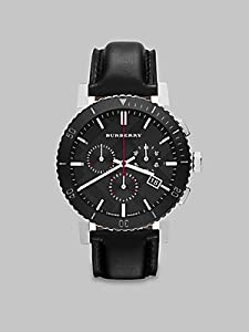 BURBERRY BU9382 - Reloj de pulsera hombre, color negro