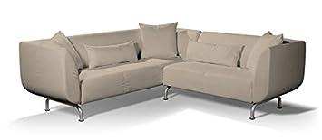 Dekoria Fire rallentamento IKEA stromstad 3+ divano a 2posti, colore beige