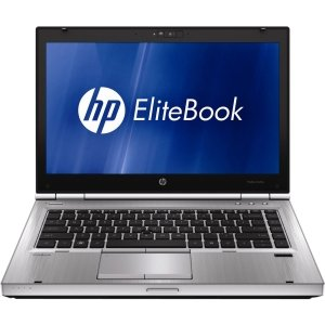 HP EliteBook 8460p QV867US 14 LED Notebook - Intel - Core i5 i5-2520M 2.5GHz - Platinum