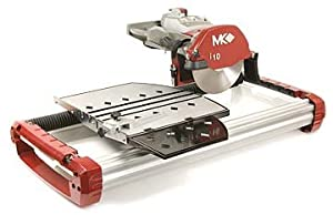 MK Diamond 166634 TX-3 Wet Cutting Tile Saw - Flood System