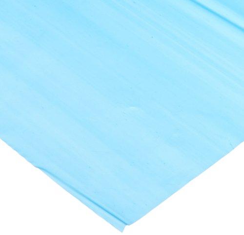"""Genuine Joe GJO10325 Plastic Rectangular Table Cover, 108"""" Length x 54"""" Width, Blue (Pack of 6) - 1"""