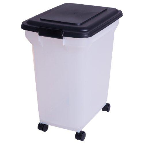 101441 Luftdichte Pet-Futtertonne, Futtercontainer, Futterbehälter - 45 Liter / 15 KG