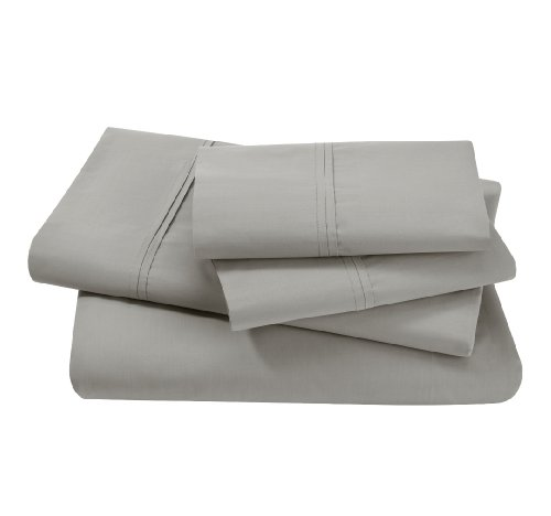 Dwellstudio Pintuck Dove Queen Sheet Set