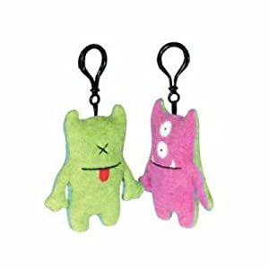 Bop N Beep - Pink + Green - Clip On - Ugly Doll