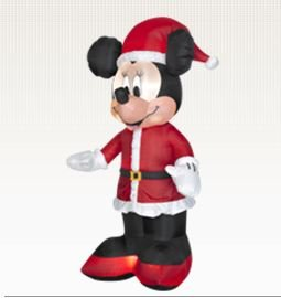 6 Ft. - Gemmy Christmas Airblown Inflatable - DISNEY - Minnie Mouse Santa