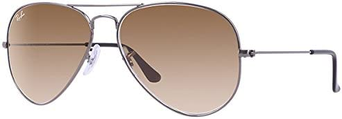 Ray-Ban RB3025 Aviator RB 3025 004/51 Aviator Sunglasses, Silver