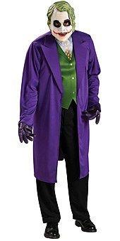 Batman The Joker Licenced Fancy Dress Costume & Mask by Parties Unwrapped (Joker Fancy Dress Costumes)