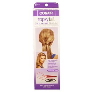 Conair Topsy Tail Kit 5-Count (Pack of 3)