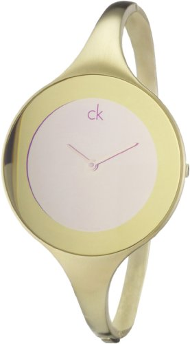 Calvin Klein Ladies Watch Mirror Gold Gr. S K2813209
