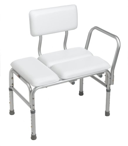 Carex Deluxe Padded Transfer Bench Health Beauty Health Mobility Accessibility Accessibility