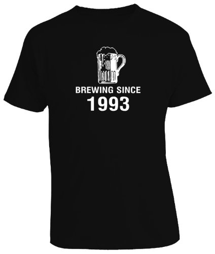 BREWING BEER SINCE YEAR 1993 - 21st Birthday Gift / Present Mens T-Shirt