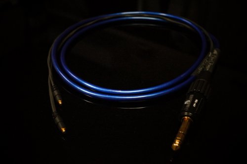 Moon Audio Blue Dragon V3 Shure Replacement Upgrade Cable Srh1540, Srh1440, Srh1840