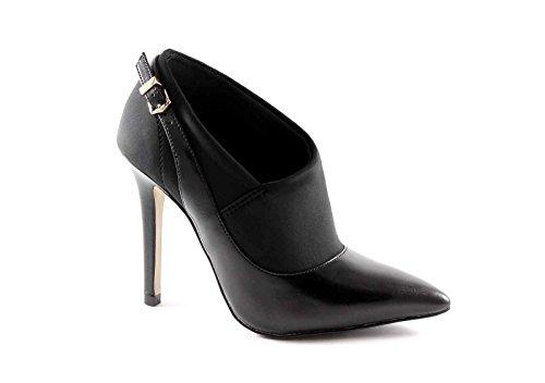 CAFè NOIR MC106 nero scarpe donna decolletè con tessuto strech