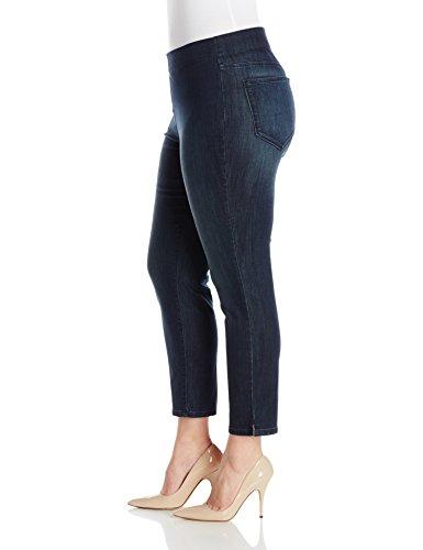NYDJ Women's Plus-Size Millie Ankle Pull On Jeans, Richmond, 18W