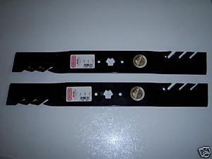 """Oregon 98-629 Gator G3 Mulcher 3-in-1 Blades (set of 2) Replace the 742-0616, 942-0616 Used on 42"""" Decks at Sears.com"""