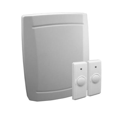Wireless Battery-Operated Door Chime Kit (Iq America Wireless Doorbell compare prices)