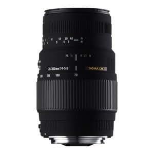 SIGMA 望遠ズームレンズ 70-300mm F4-5.6 DG MACRO ソニーA(α)マウント
