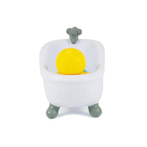 b duck soap dish yellow home garden bathroom accessories