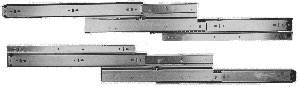 Buy Drawer Slide, Full Extension, 22 in., Heavy Duty, 150 lb. Capacity, Zinc (Hettich Drawer Slides, Hardware, Cabinet & Furniture Hardware, Drawer Slides)